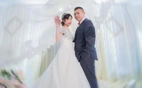 小甜心琳儿的婚礼高档婚纱定制西装订做厦门婚纱店