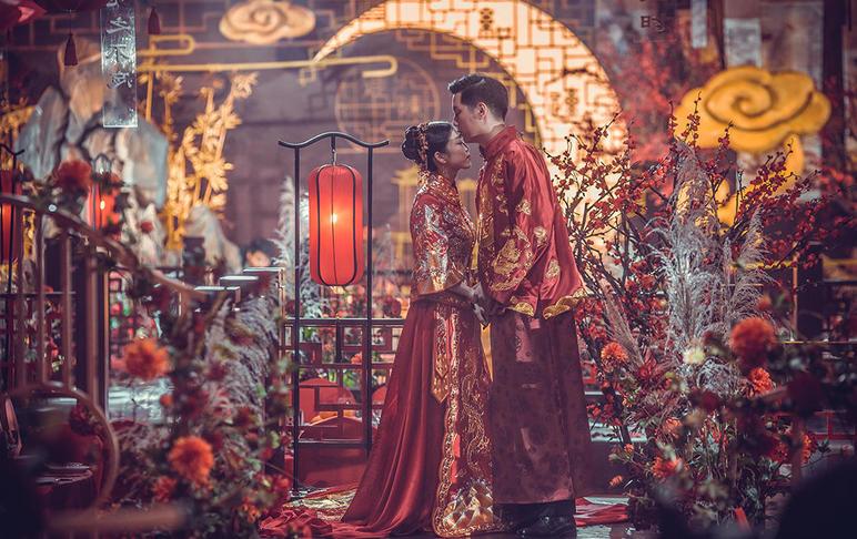 君兮意丨DreamPark·创意复古新中式婚礼