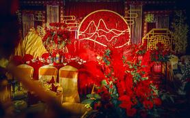 中式婚礼《月满》 相逢春暖初月满