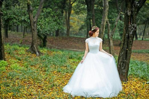 最美公主领-出门纱