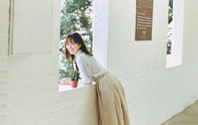 青岛个人写真旅拍八大关海边4套服装精修50张