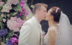 《中国姑娘和美国boy的爱情邂逅》-婚礼film
