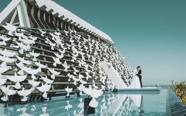 爱旅拍巴厘岛•原创作品•悦榕庄白鸽教堂