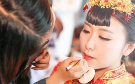 Melody新娘造型|婚礼全程跟妆 首席档