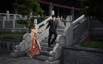 【超值租赁】设计师款秀禾服+婚礼全天跟妆