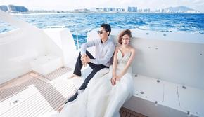 【爆款推荐】赠送:私人游艇 出海航行拍摄!