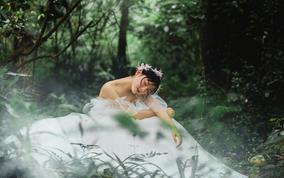【森系爆款】唯美仙气婚纱照|绿野仙踪拍摄体验