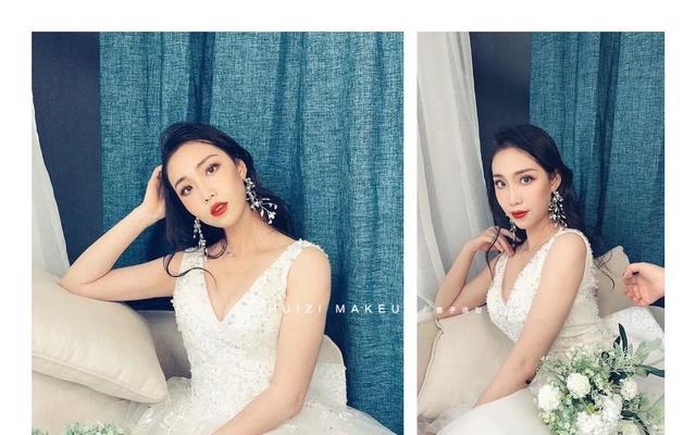 (国际一线化妆品)惠子新娘跟妆