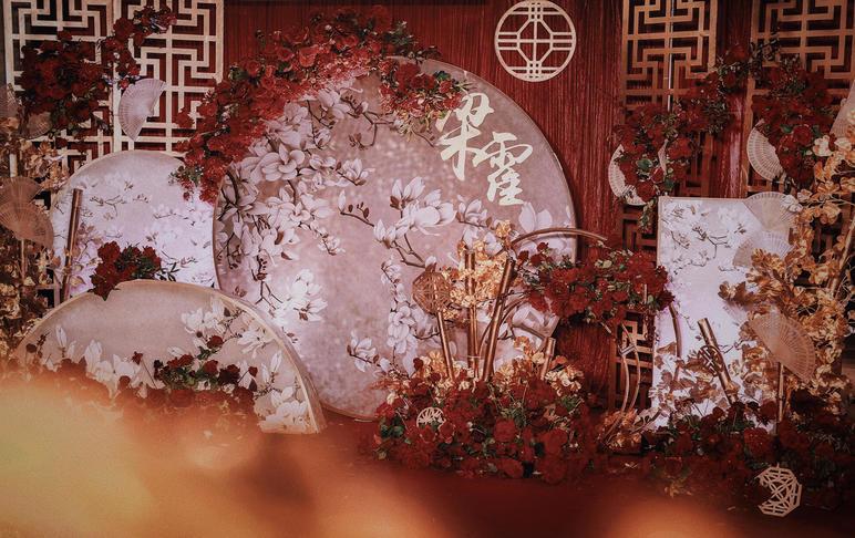 【一喜婚礼定制】新中式婚礼·锦绣