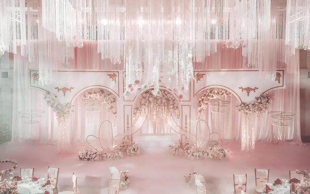 蜜思婚礼--【花·域】梦幻童话粉色定制· 潮汕