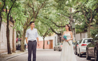 YeeVision魔都style婚纱记录