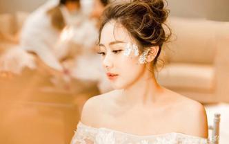 【茜茜造型团队】 新娘全天跟妆首席老师