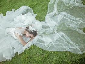 唯美清新婚纱照-真正的客片就是样片