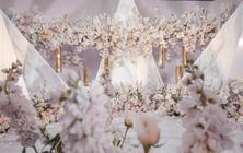 【雅媛婚礼】18年度流行淡粉色花艺唯美创意策划