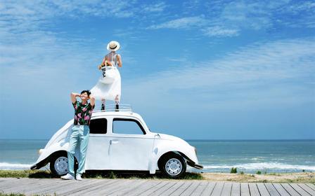 【婚礼纪专属优惠套餐】爆品海景旅拍 日照碧海蓝天