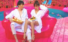 后古旅拍『网红泳池』の粉红派对