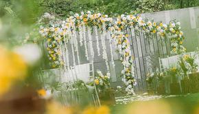 户外婚礼-【致姗姗来迟的你】