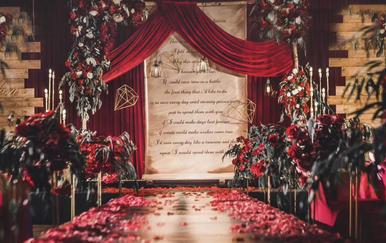 复古风格主题婚礼《情书》