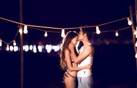 零下八度婚纱摄影--唯美夜景主题拍摄