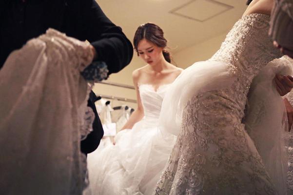 【昆娜新娘试纱照片分享】