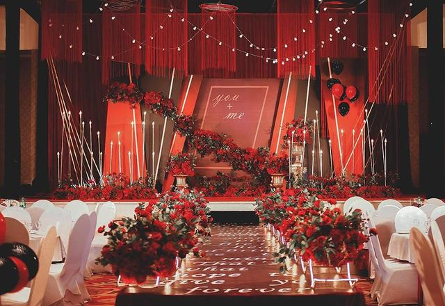 【台北*呈色婚礼】--红与黑