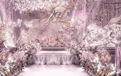 皇嘉主意-网红粉色花园风婚礼