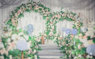 【禧尚婚礼】浪漫森系婚礼 丰满鲜花