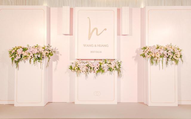 【US案例】简约暖粉系婚礼