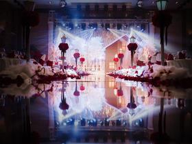浪漫冰雪主题婚礼《雪恋》
