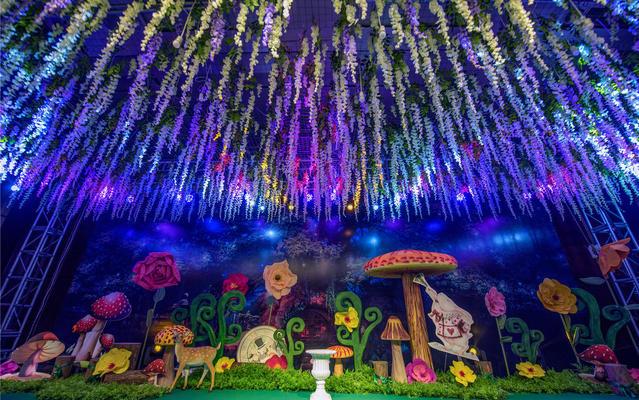 【忆江南】《爱丽丝梦游仙境》森林主题婚礼
