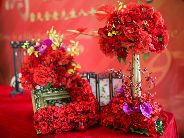 【四季童话】九天国际寿宴  私人定制中式婚礼