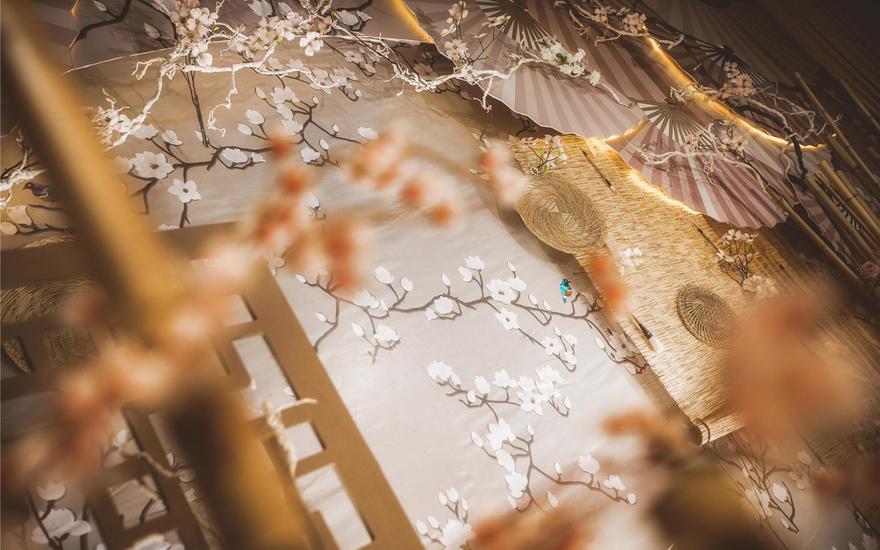 雅致水墨新中式婚礼《觅》
