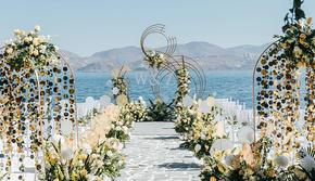 三亚旅行婚礼鲜花婚礼海边婚礼婚庆策划公司