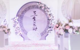 """""""三生三世""""茂业中庭首场中国风婚礼秀"""