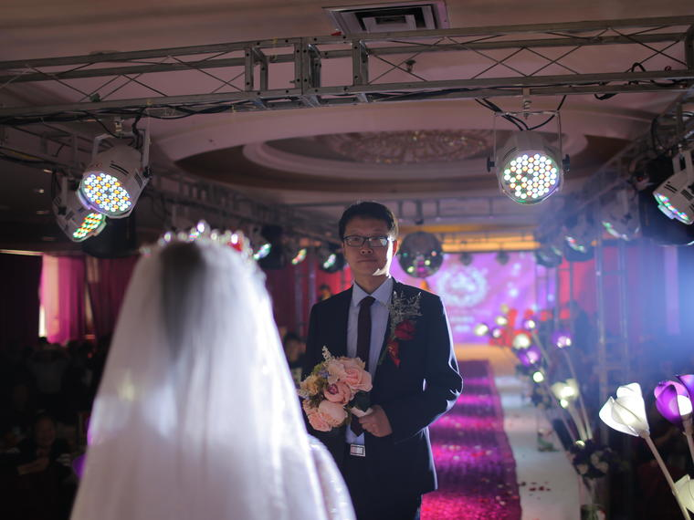 首席档单机位婚礼摄影 拍600张 精修20张