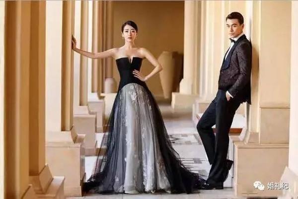 各种风格婚纱照搭配