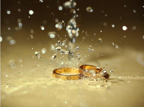 結婚對戒照片