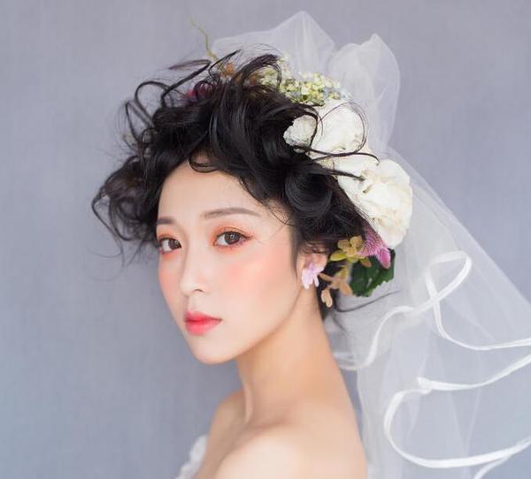 新娘发型教程