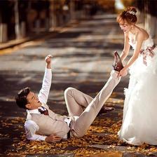 拍婚纱照表情技巧管理 婚纱照表情指南