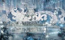 【蓝戒指婚庆】--高新皇冠梦幻蓝