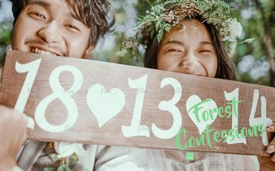 PINK婚纱摄影—森の告白