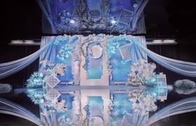 春日里优雅气质型婚礼《沁蓝》