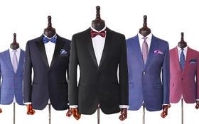 优山 VBC经典款黑色结婚礼服套装