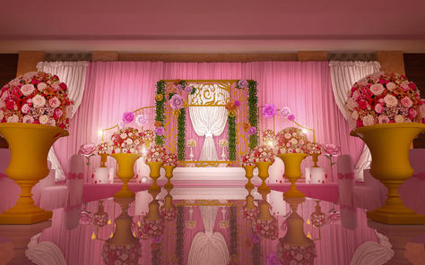 天美婚礼策划 遇见爱的你 主题策划