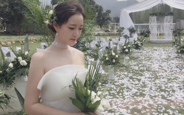 【AMY  婚礼客片】日韩系的户外婚礼