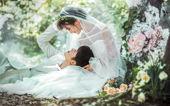 《蜜·林》森林梦幻系列婚纱照-Queen婚纱摄影