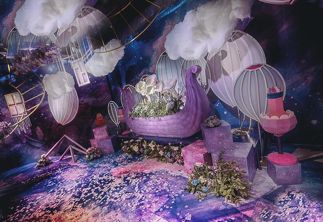 飛凌婚礼•《旅•路》奢华紫