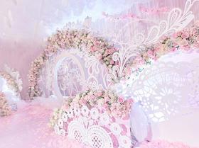 【珍妮罗曼】-- 唯美粉白主题婚礼