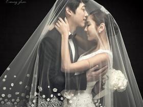 【Cx studio 晨曦摄影工作室】韩风浪漫内景婚纱