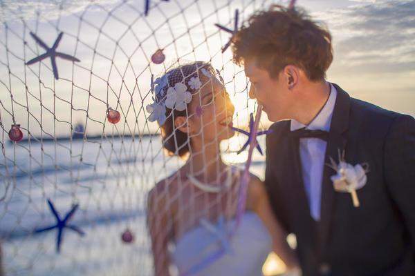 【三亚纪时光婚纱摄影】 海景蜜月旅行婚纱照